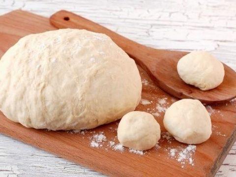 Дрожжевое безопарное тесто