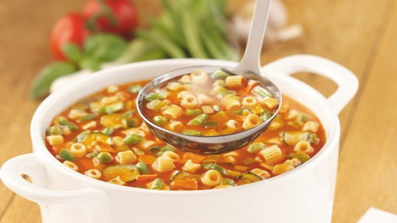 Густой рыбный суп