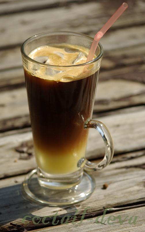 Кофе с ромом и апельсиновым соком