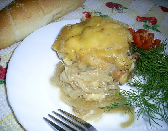 Куриные окорочка, запеченные в соли