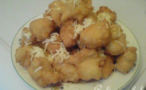 Пончики из заварного теста с сыром