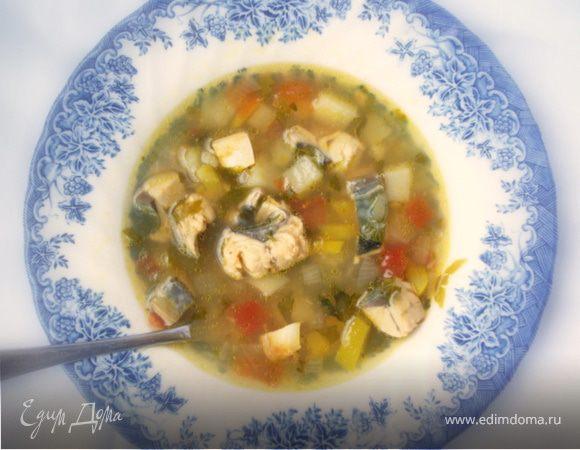 Рыбный суп по-тунисски