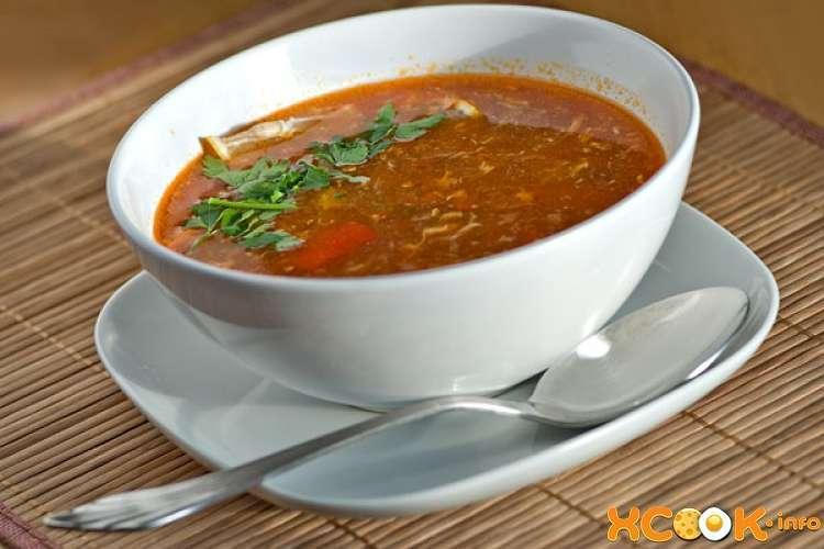 Рыбный суп по-венгерски