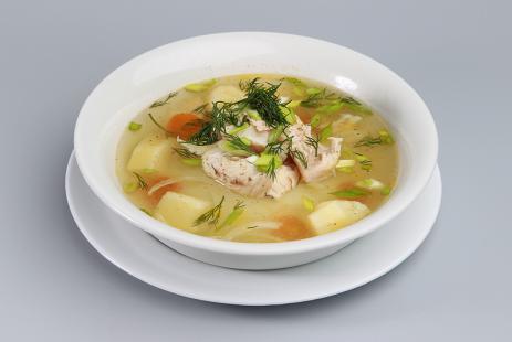 Рыбный суп с вином
