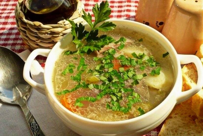 Суп из баранины по-шотландски