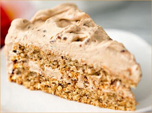 Торт ореховый с ореховым кремом