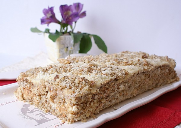 Торт ореховый (вариант 1)