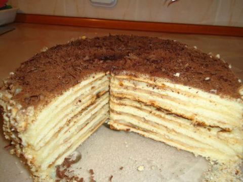 Торт творожный (вариант 1)