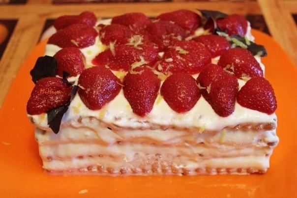 Торт творожный (вариант 2)
