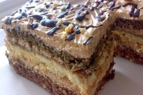 Торт «Вкус кофе»