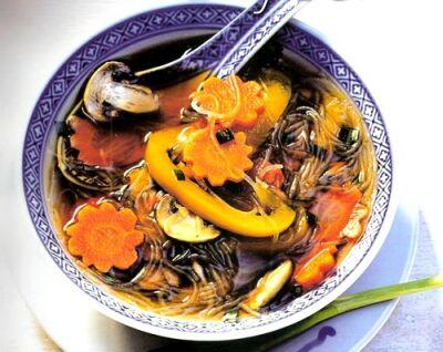 Тройной грибной суп по-монастырски