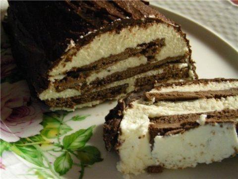 Творожный торт (вариант 1)
