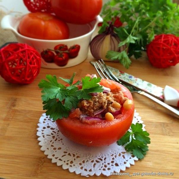 Перец, фаршированный белой фасолью