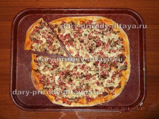 Пицца «Дары природы»