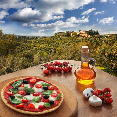 Пицца «Пейзаж»