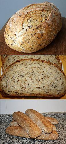 Хлеб пшеничный «Чиабатта»