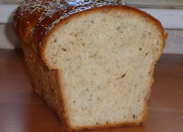 Хлеб пшеничный с апельсиновой цедрой