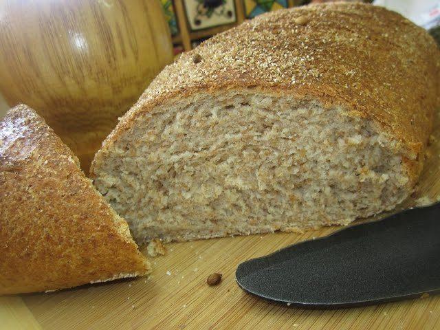 Хлеб пшеничный с киви