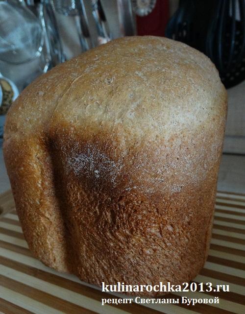Хлеб пшеничный с отрубями и картофельным пюре