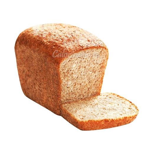 Хлеб пшеничный с отрубями и морковью
