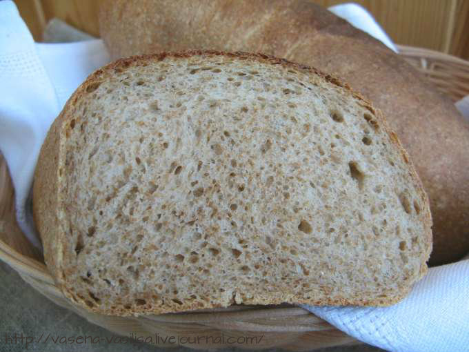 Хлеб пшеничный с отрубями и пивом