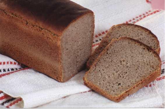 Хлеб пшеничный с отрубями, морковью и паприкой