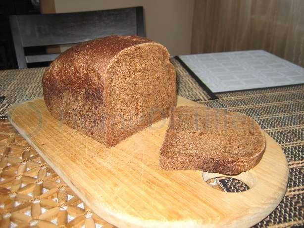 Хлеб ржаной с лимонной цедрой и цукатами