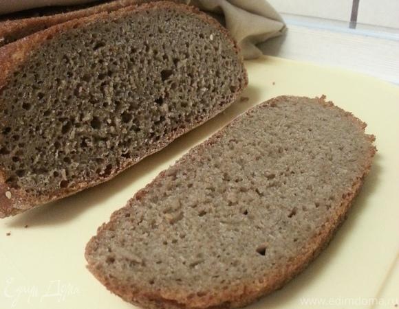 Хлеб ржаной с медом и кориандром