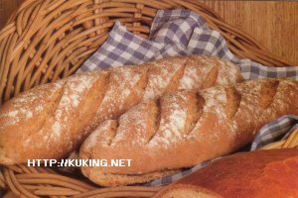 Хлеб ржаной с укропом