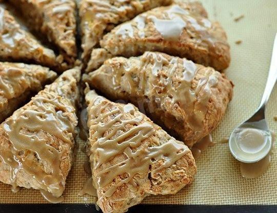 Хлеб с глазурью