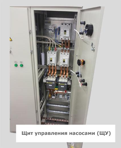 Электрощитовое оборудование помещений