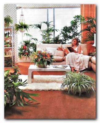 Размещение растений