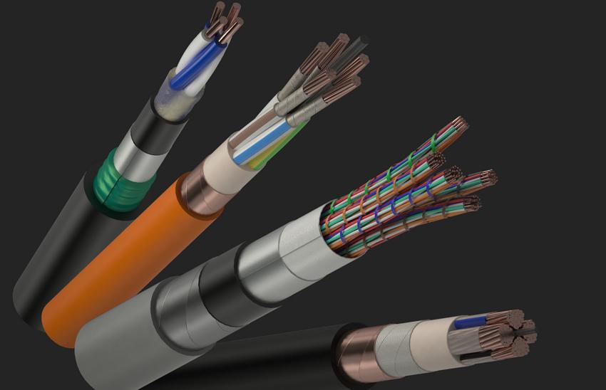 Силовой кабель и провод, способы прокладки