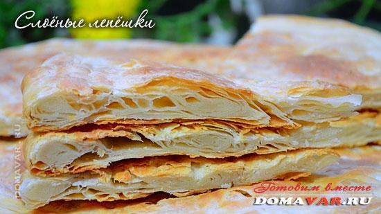 Узбекский хлеб Патыр