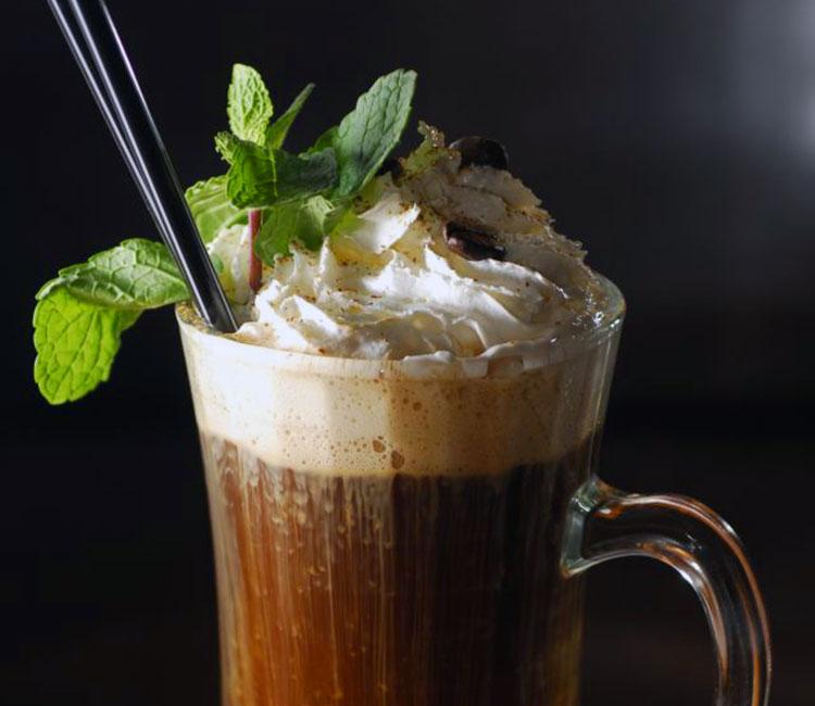 Мятный шоколадный кофе