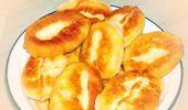 Пирожки с говяжьей печенкой