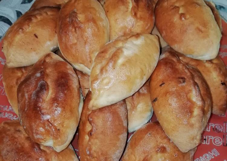 Пирожки с творогом по-польски