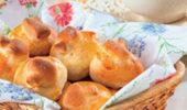Пирожки с ветчиной и грибами