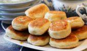 Пирожки жареные с мясом