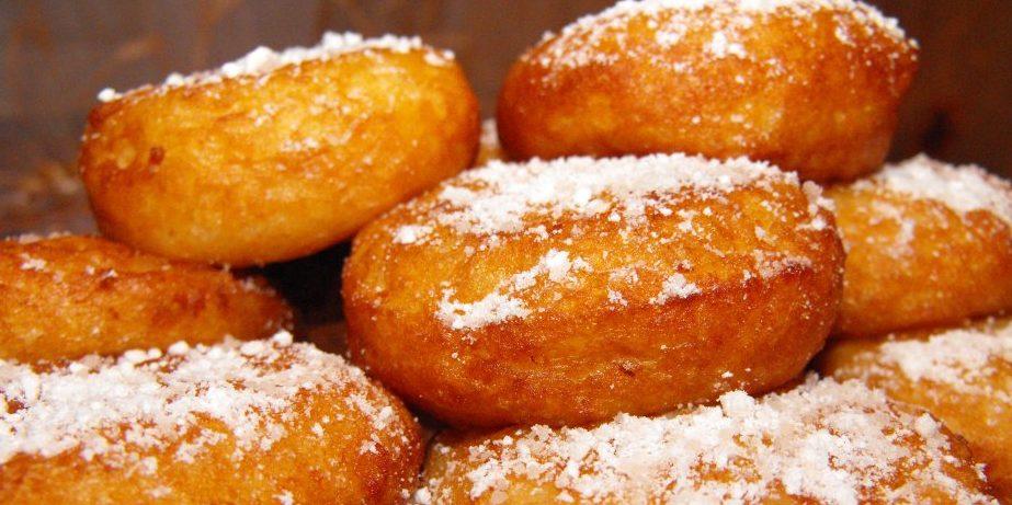 Пончики жареные рисовые