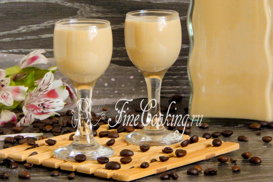Рецепт кофейный ликёр